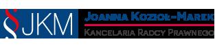 Kancelaria Radcy Prawnego - Joanna Kozioł-Marek